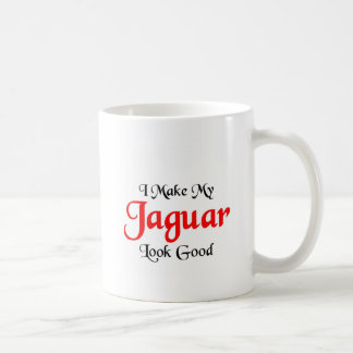 I make my Jaguar look good Coffee Mug