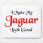 I make my Jaguar look good Mouse Mat