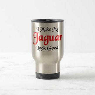 I make my Jaguar look good Stainless Steel Travel Mug