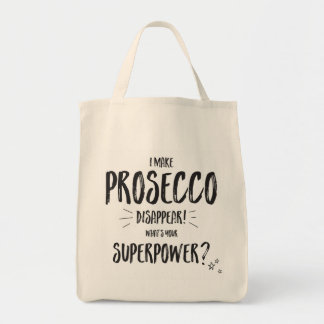 I make prosecco disappear shopping bag