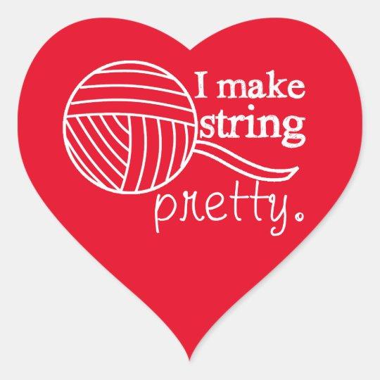 I Make String Pretty Crafts {Any Colour Dark}