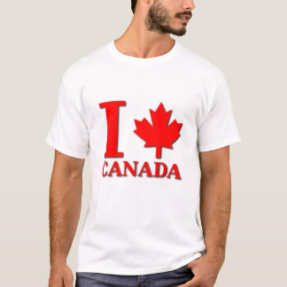 I Maple Leaf Canada Shirt Canadian Pride