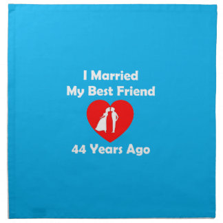 Wedding Gift For 44 Years : 44 Wedding Anniversary Gifts - T-Shirts, Art, Posters & Other Gift ...