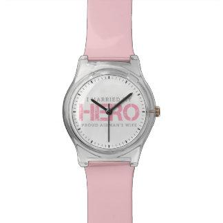 I Married My Hero - Airman's Wife Wristwatch