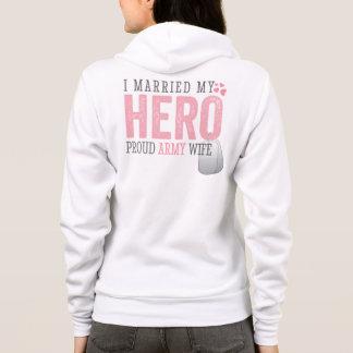 I married my Hero Hoodie