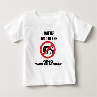 I matter, you matter, let everyone know it! infant T-Shirt