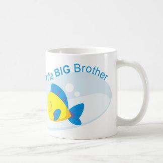 I may be little but I am the Big Brother Basic White Mug
