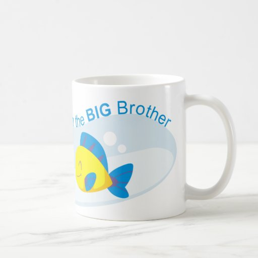 I may be little but I am the Big Brother Coffee Mugs