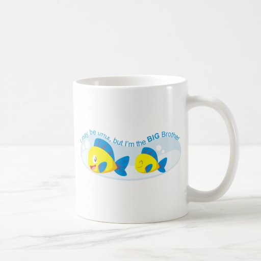 I may be little but I am the Big Brother Mugs