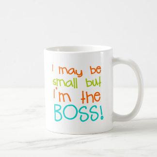 I may be Small but Im the Boss Basic White Mug