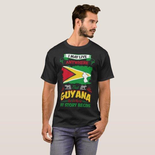 I May Live Anywhere Guyana Where My Story