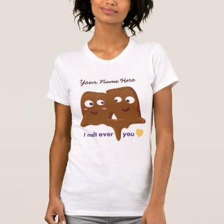 I Melt Over You Chocolate Bar T-Shirt