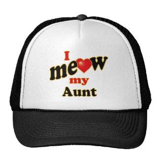I Meow My Aunt Cap