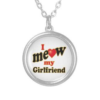 I Meow My Girlfriend Custom Necklace