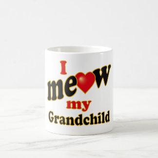 I Meow My Grandchild Coffee Mug