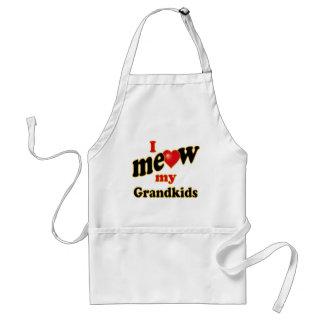 I Meow My Grandkids Apron