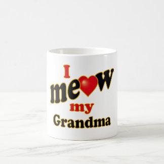 I Meow My Grandma Coffee Mug