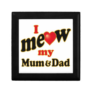 I Meow My Mum and Dad Gift Box