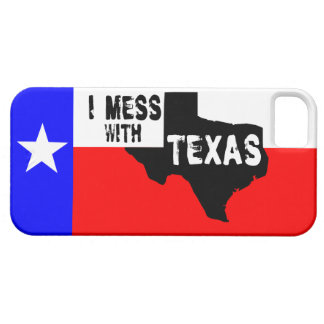I MESS WITH TEXAS iPhone 5 COVER