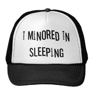 I Minored In Sleeping Mesh Hats