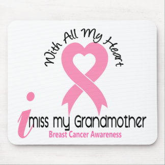 I Miss My Grandmother Breast Cancer Mouse Pads