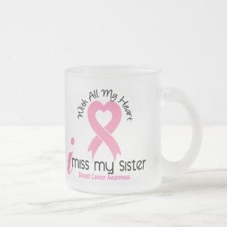 I Miss My Sister Breast Cancer Coffee Mug