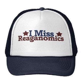 I Miss Reaganomics Cap