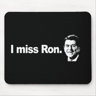 I MISS RON Bumpersticker Mouse Pad