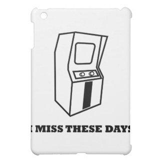 I Miss These Days Arcade Games iPad Mini Case