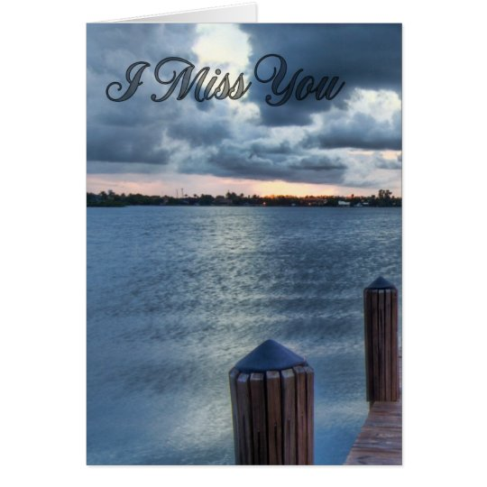 I Miss You #3 Card