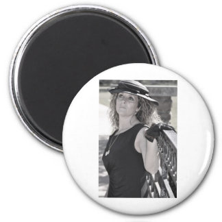 I Miss You More than Life Itself 6 Cm Round Magnet