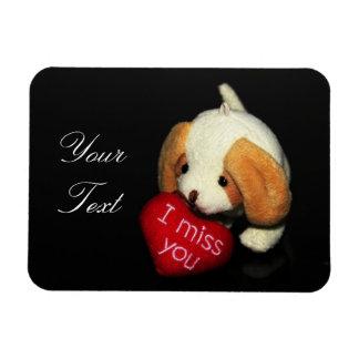 """I Miss You"" Photo Magnet"