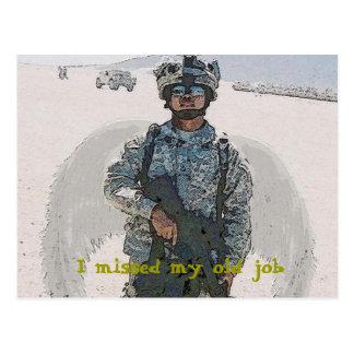 I missed my old Job Postcard