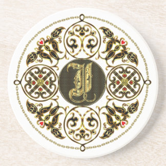 I Monogram Classic Best viewed large see notes Beverage Coasters