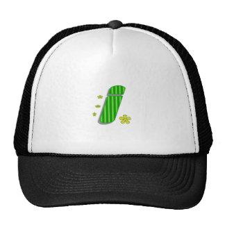 I monogram hat