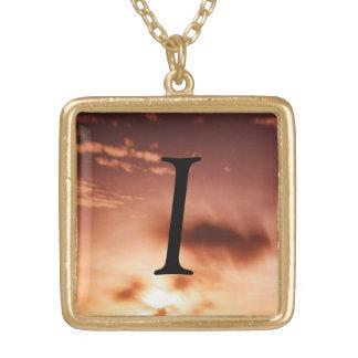 I  Monogram  Necklace