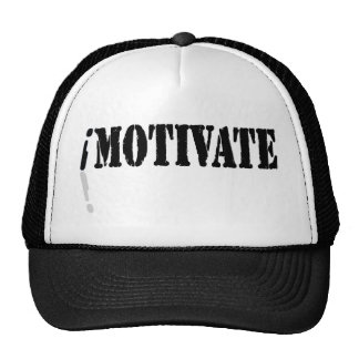 I Motivate Trucker Hat