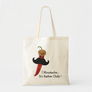 I Moustache.. It's Rather Chilli Tote Bag