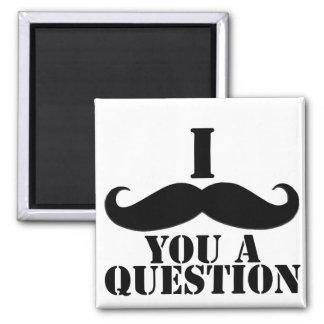 I Moustache You A Question Magnet