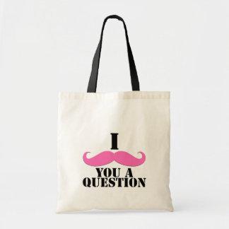 I Moustache You A Question Pink Moustache