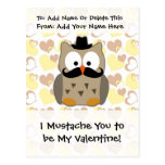 I Moustache You to be My Valentine