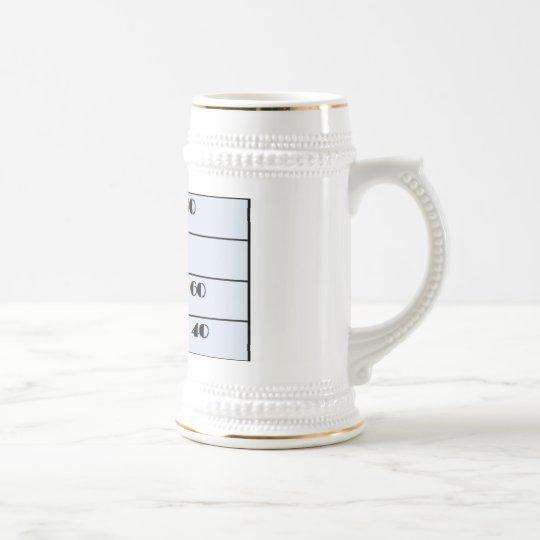I must be 40 mug, 40th birthday beer