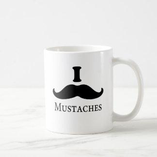 I Mustache Mustaches Mugs