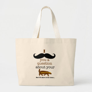 i mustache you a question about your honey badger bag