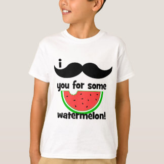I mustache you for some watermelon! T-Shirt