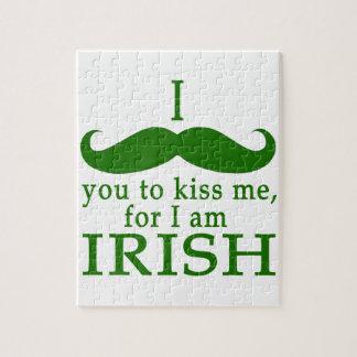 I Mustache You to Kiss Me I'm Irish! Puzzles