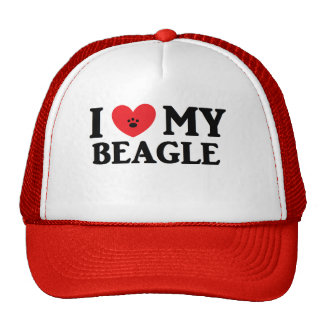 I ♥ My Beagle Cap