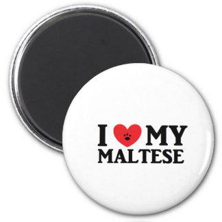 I ♥ My Maltese Magnet