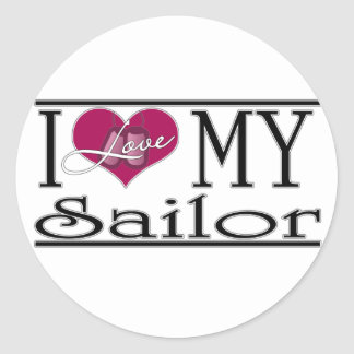 I ♥ my Sailor Stickers