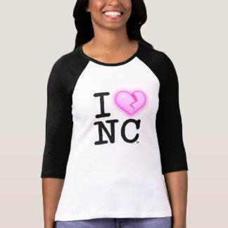 I ♥ NC T-Shirt ♀